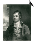 Robert Burns Prints by Alexander Nasmyth