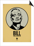 Bill 1 Print by Aron Stein