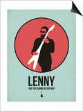 Lenny 1 Posters by David Brodsky