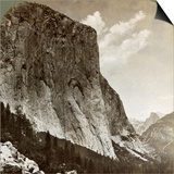 El Capitan and Half Dome, Yosemite Valley, California, USA, 1902 Prints by  Underwood & Underwood
