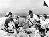 Beach Picnic Prints