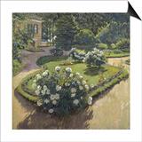 A Garden, 1910 Posters by Sergei Arsenyevich Vinogradov