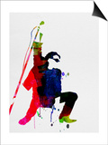Bono Watercolor Prints by Lora Feldman