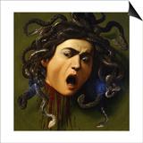 Medusa, 1596-1598 Print by  Caravaggio