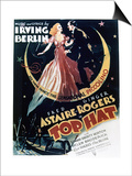 Top Hat - Movie Poster Reproduction Posters