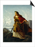 Germania at the Watch on the Rhine Prints by Lorenz Clasen