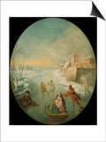 Winter Prints by Jean-Baptiste Pater