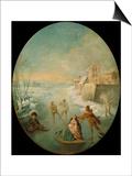 Winter Prints by Jean-Baptiste Pater