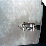 The Apollo 15 Command and Service Modules in Lunar Orbit, 1971 Prints
