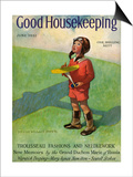 Good Housekeeping Front Cover June 1932 Posters par Jessie Willcox-Smith