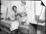 Poodle Parlour 1930s Art