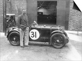 Cyril Paul with His Mg C Type, 1932 Prints