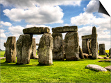 Stonehenge - Abstract of Stones - Wiltshire - UK - England - United Kingdom - Europe Posters by Philippe Hugonnard