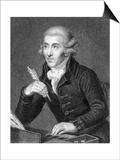 Joseph Haydn, Guttenbrunn Prints by I Jenkins