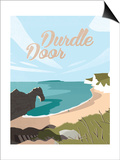 Durdle Door Posters by Adam McNaught-Davis