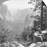 View from Inspiration Point Through Yosemite Valley, California, USA, 1902 Posters by  Underwood & Underwood