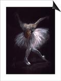 Performance Kunstdrucke von Hazel Bowman