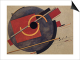 Study for a Poster, 1920 Posters by El Lissitzky