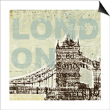 Trendy London Posters by Melissa Pluch