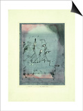 Twittering Machine Prints by Paul Klee