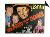 Mr. Moto Takes a Chance - Lobby Card Reproduction Posters