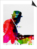 Thelonious Watercolor Prints by Lora Feldman