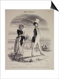 Marital Habits Posters par Honore Daumier