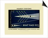 Transport for London - Boat Race 1923 Plakát