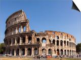 Colosseum, Rome, Lazio, Italy, Europe Prints by Simon Montgomery
