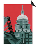 St Paul's Cathedral Prints by Jennie Ing