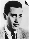 Jd Salinger (1919-1951) American Novelist Here C. 1950 Posters