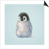 Penguin Prints by John Butler Art