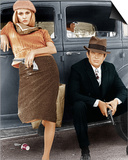 Bonnie and Clyde Print