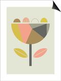 Scandi Flower Posters by  Little Design Haus