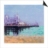 Brighton Pier 2 Posters by Colin Ruffell