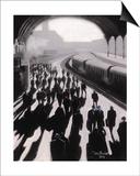 Victoria Station, London - 1934 Plakater af Jon Barker