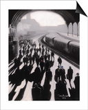 Victoria Station, London - 1934 Prints by Jon Barker