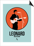 Leonard Prints by David Brodsky