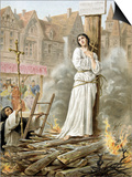 Joan of Arc (1412-1431) French Heroine of the Hundred Years' War Prints