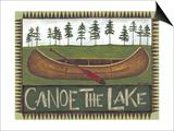 Canoe on the Lake Prints by Cindy Shamp