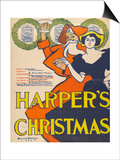 Harper's Christmas Art by Edward Penfield