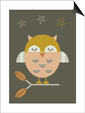 Little Owl Art by  Little Design Haus