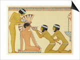 The Romance of a Mummy Art by Georges Barbier