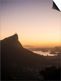 View from Chinese Vista at Dawn, Rio De Janeiro, Brazil, South America Plakat af Ben Pipe