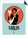 Carlos Posters by David Brodsky