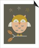 Little Owl Print by  Little Design Haus