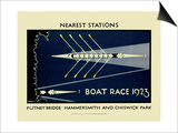 Boat Race 1923 Posters by  Transport for London