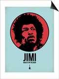 Jimi 2 Poster by Aron Stein