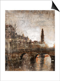 European Bridge Print by Alexys Henry