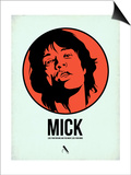 Mick 2 Print by Aron Stein
